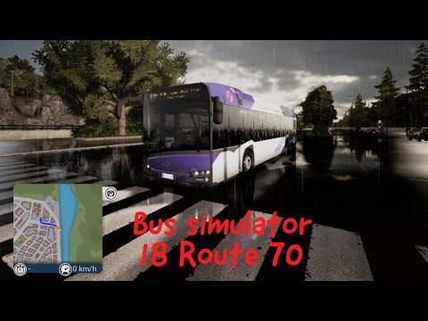 Bus simulator 18 Route 70 |