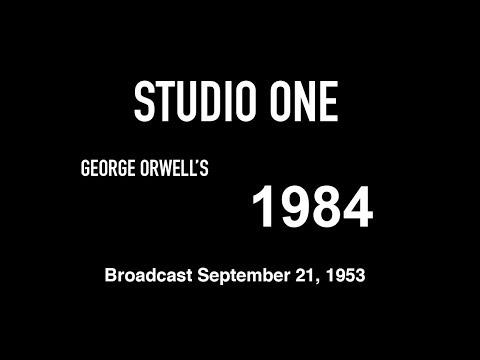 """live-tv-restoration:-studio-one---george-orwell's-""""1984"""""""