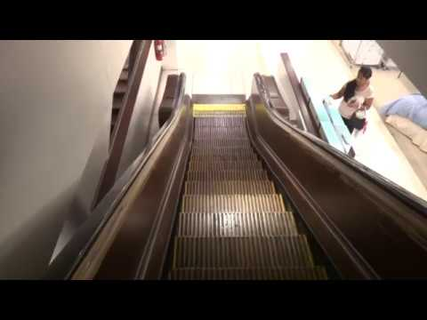 Raw files: Wooden escalators at Macy's Herald Square New York City NY