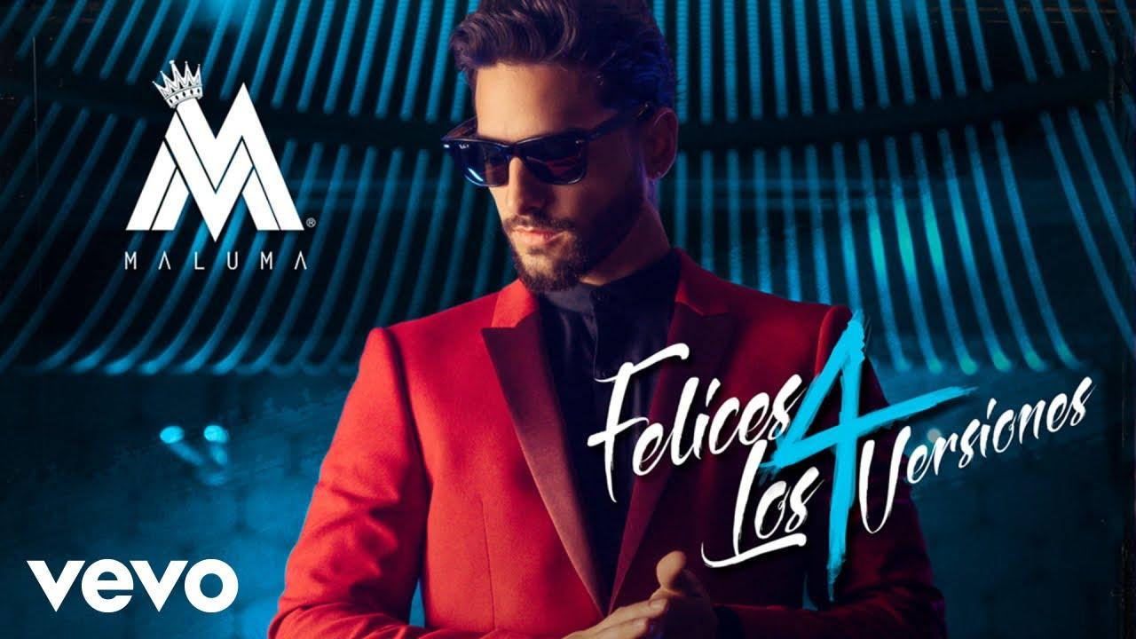 Maluma - Felices los 4 ((Urban Version)[Audio]) - YouTube on