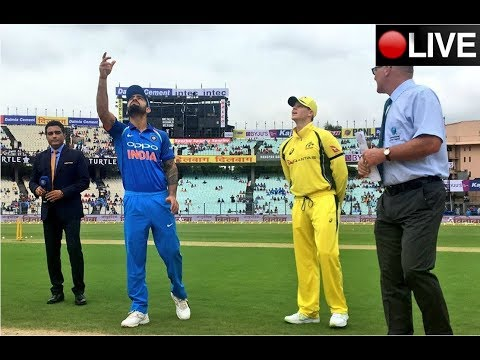 Live: 3rd ODI, INDIA VS AUSTRALIA Holkar Cricket Stadium, Indore, India with commentary
