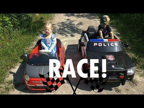 Cinderella Vs Hulk Power Wheels Race Girl Vs Boy Peg Perego Ride On Cars