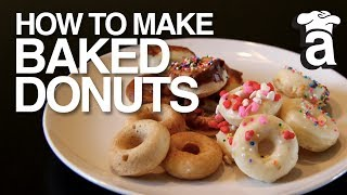 Baked Healthy Donuts | Cooking With Abbey