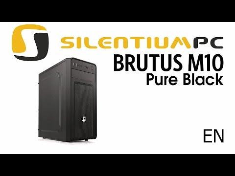 SilentiumPC Brutus M10 Pure Black - official product release