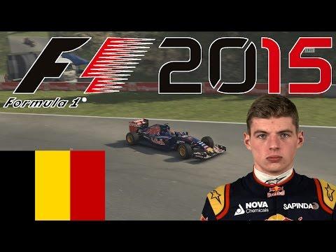 F1 2015 SPA, Belgien GP - Qualifying + Rennen - Max Verstappen Onboard Gameplay (deutsch)