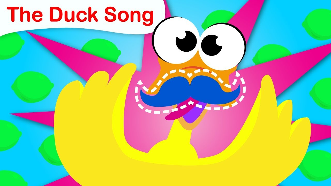 The Duck Song | Waddle Waddle  | Learn The Letter B | Fun Kids Songs by Little Angel