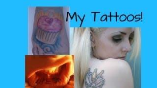 Updated Tattoos & Piercings!