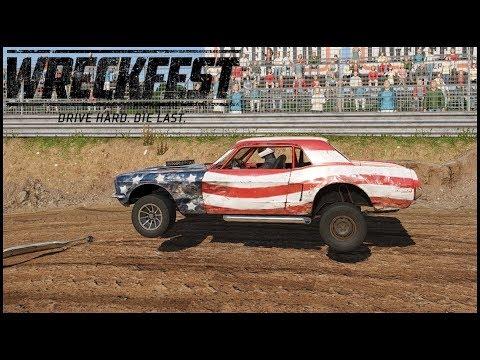 Wreckfest - DEMOLITION RACING!! - EP.1