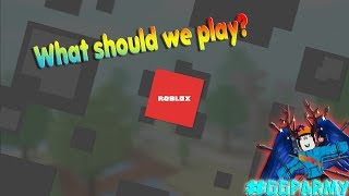 🔴ROBLOX FAM FRIENDLY! | U SAY WE PLAY!! GGPARMY BEST! HYPE!
