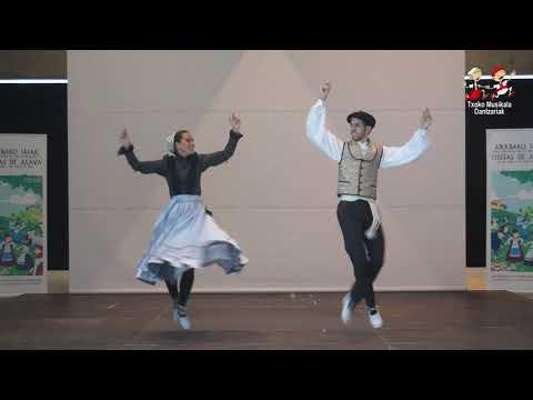 1905010004 Sara Chaves, Eta Gorka Etxeandia, Arabako 27  Dantza Sueltoko Txapelketan