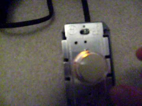 Electric Motor With Dimmer Switch Youtube