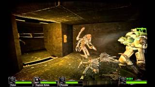DeathWing gameplay - Space Hulk mod for Left 4 Dead 2