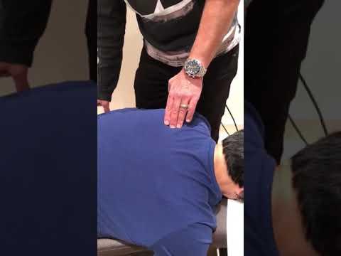 Upper back pain home treatment