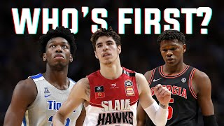The Official NBA Mock Draft 2020