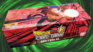 INCREDIBLE LUCK! Dragon Ball Super Draft Box 2 Opening!