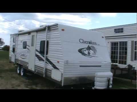 2007 Cherokee Lite 28a Travel Trailer Youtube