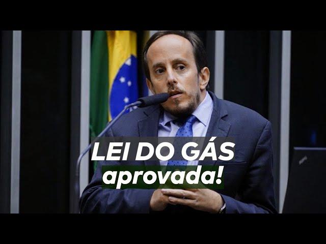 FINALMENTE APROVAMOS A LEI DO GÁS!