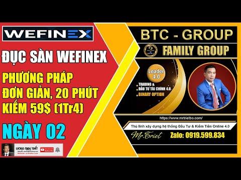 Wefinex - Đục Sàn Với Phương Pháp Đơn Giản, 20 Phút Kiếm 1Tr4 - Ngày 02🔴 Lương Minh Triết