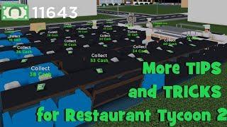 The best way to make money in restaurant tycoon 2 videos