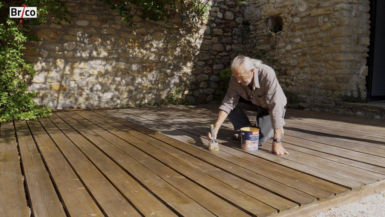 Rénover Une Terrasse En Bois Avec Un Dégriseur Et Un