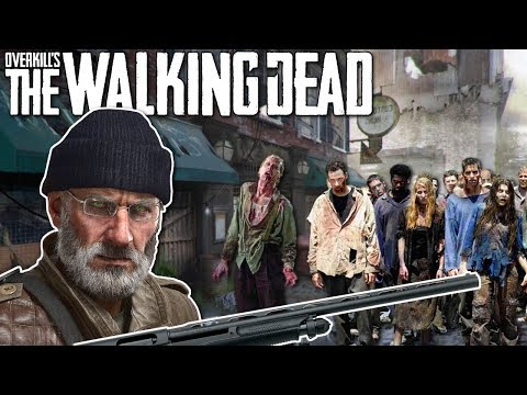 WALKING DEAD ZOMBIE SURVIVAL GAME! - Overkill's The Walking Dead Gameplay