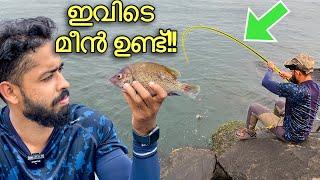 കടലിൽ ചൂണ്ട ഇട്ട് കിട്ടിയ മീനിനെ കണ്ടോ ?? | Three Different Types Of Fishes | Sea Fishing Kerala