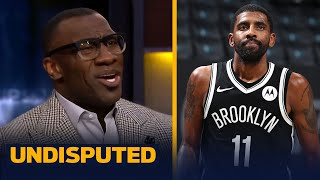Shannon goes off on Kyrie's 'bulljive' response to media, addresses Harden rumors   NBA   UNDISPUTED
