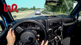 2017 Jeep Wrangler Unlimited Manual - Tedward POV Test Drive (Binaural Audio and Puppy)