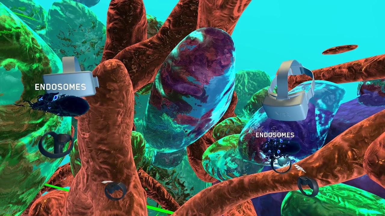 """Ομογενής πίσω από την τεχνολογία VR που επιτρέπει την """"περιήγηση"""" μέσα στα καρκινικά κύτταρα"""