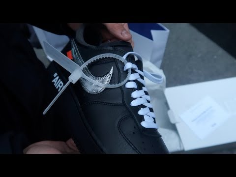 FIGHT AT THE MOMA X OFF WHITE AIR FORCE 1 RELEASE