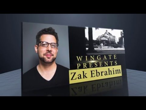 Wingate University - Wingate Presents: Zak Ebrahim - YouTube