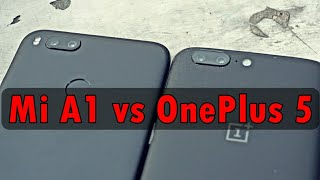 Xiaomi Mi A1 vs OnePlus 5 Camera Comparison : Really 😂