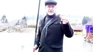 Супер рыбалка ! Я учусь ловить форель ))  в Карпатах ! в Опака ! Украина ! январь 2016!