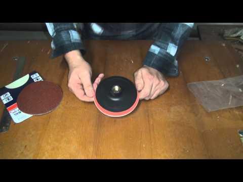 Шлифовальный диск для болгарки
