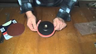 Шлифовальный диск для болгарки(Смотрите краткий обзор шлифовального диска который можно поставить и на болгарку и на дрель. Шлифовальный..., 2014-11-28T17:46:27.000Z)