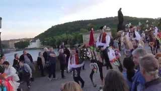 Navalis 2015 - Svatojánské procesí a Jízda králů - Karlův most
