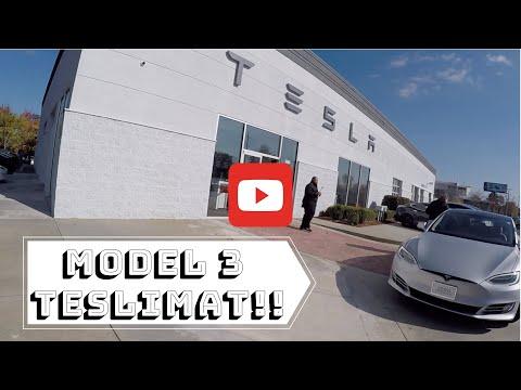 Tesla Model 3 Teslim Alan İlk Türk! I Tüm Detaylarıyla Teslimat I Türkçe Olarak