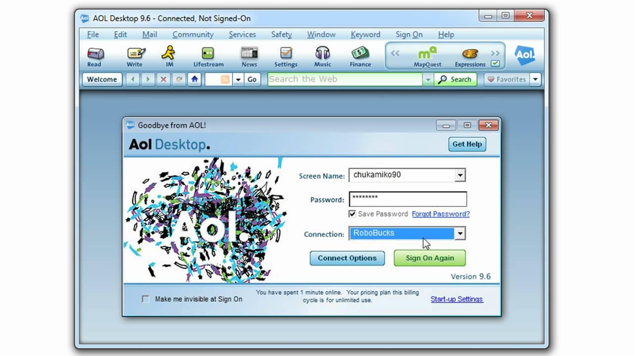 ERROR AOL AC-3000 - YouTube