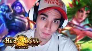 ATÉ AQUI O MEU KITE É ABSURDO! - Heroes Arena