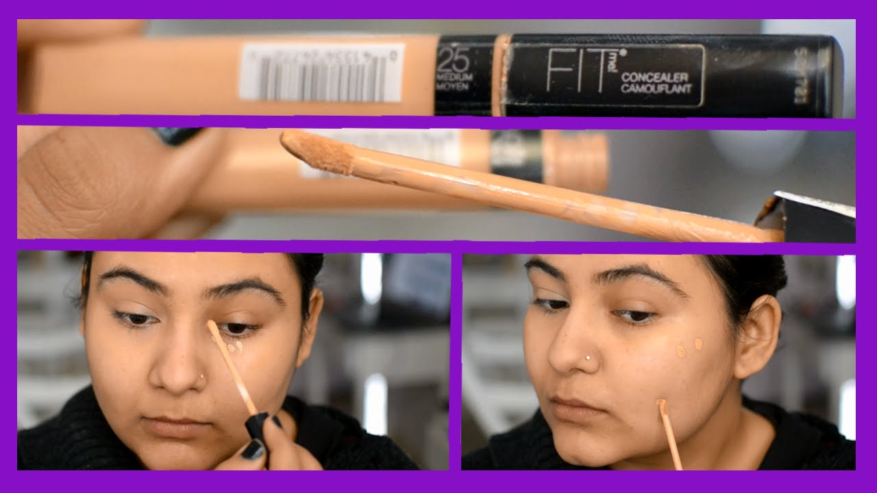 Maybelline FIT ME Concealer review Indian
