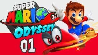 Super Mario Odyssey Gameplay Walkthrough Demo Exploring Metro Kingdom