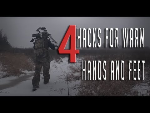 4 Hacks To Keep Your Hands And Feet Warm!
