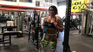 BootyBuilding superset with a resistance band