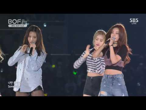 161001 Girl's Day - Something & Ring My Bell (BOF 1 Oct 2016 Live) Sojin Yura Minah Hyeri 걸스데이