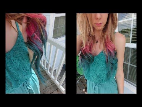 tutoriel tie dye la maison youtube - Tie And Dye Coloration Maison