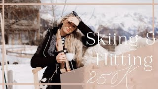 How To Look Stylish When Skiing! + How I Used The Secret to get 250k Subscribers // Fashion Mumblr