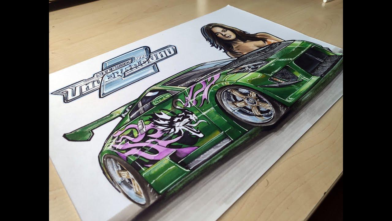 Rachel S Nissan 350z Need For Speed Underground 2 Fan Art