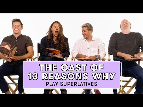 The 13 Reasons Why Cast Reveals Who's Most Likely to Share a Major Spoiler | Superlatives
