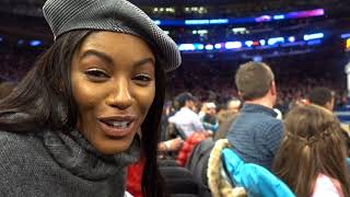 Sharam Diniz VLOG #5 Knicks Basketball Game