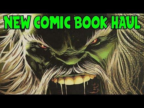 New Comic Book Haul February 14 2018